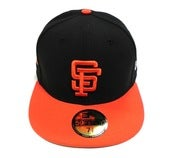 "Image of SF GIANTS ""COOP SIDE PATCH"" NEW ERA FITTED"