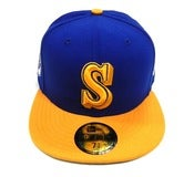 "Image of SEATTLE MARINERS ""COOP SIDE PATCH"" NEW ERA FITTED"
