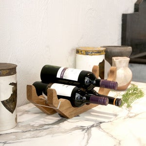 Image of Oak Wine rack