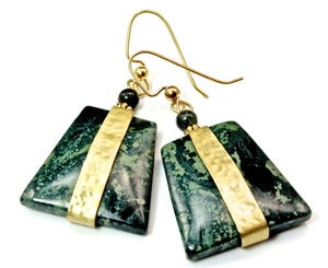 Image of Kambaba Jasper Earrings