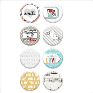 Image of love you lots v2 badge buttons