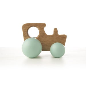 Image of Oak Tractor - Turquoise
