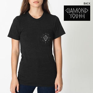 Image of Diamond Youth - Diamond Pocket Print T-Shirt