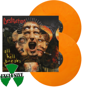 Image of Destruction - All Hell breaks Loose (Yellow / Orange Mix)