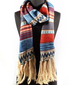 Image of Printed Winter Scarf