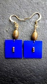 Image of Royal Blue Thayu Earrings