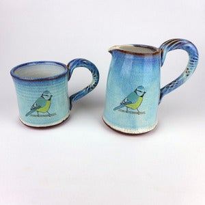 Image of Large Blue Tit, Song Thrush, Robin or Blackbird Jug