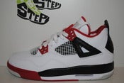 "Image of Air Jordan IV ""Fire Red"" (GS)"