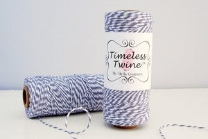 "Image of Gray Bakers Twine by Timeless Twine - ""Graphite Gray"""