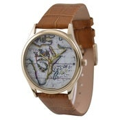Image of Vintage Map Watch (Africa)