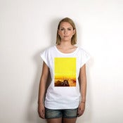 Image of Fake City - I love Paris - ( Rolled Sleeve Woman )