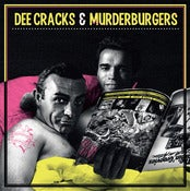Image of DeeCracks / The Murderburgers - Split LP (Yellow Vinyl) /500