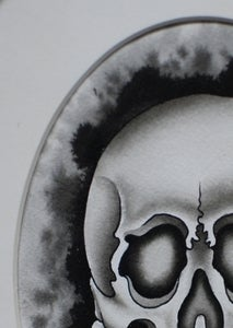 Image of Skull Painting