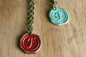 Image of F - J Alphabet Initial Necklace