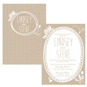 Image of A Little Birdie Told Me Weeding Invitation Wedding Suite