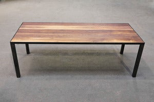 Image of Metal Base Coffee Table
