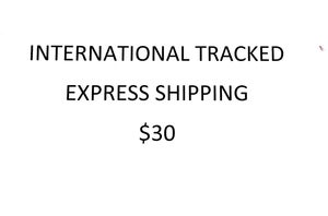 Image of International Tracked Shipping Charge $30