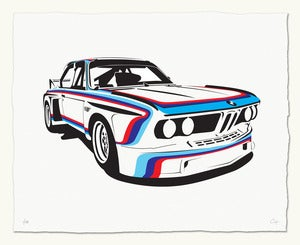 Image of BMW 3.0 CSL Race Car