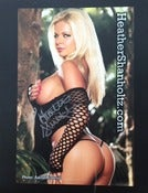 "Image of Heather Shanholtz 8""x10"" auto#3"