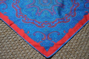 Image of Hand-Made Silk Neck Scarf