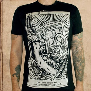 Image of the Gunslinger - discharge inks - unisex
