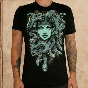 Image of Medusa - discharge inks - unisex