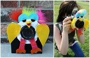 Image of Rainbow Big Birdie Lens Friend