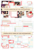 Image of *New* Striped Marketing & Studio Forms Bundle | COMPLETE COLLECTION