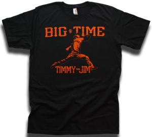 Image of Tim Lincecum &quot;Big Time Timmy Jim&quot; San Francisco Giants tee by Backpage Press