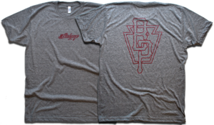 Image of &quot;Big Keystone&quot; tee by Backpage Press