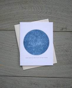 Image of Written in the Stars Note Card