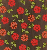 Image of Brown Mini Floral from the Summer House Collection
