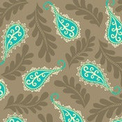 Image of Grey Paisley from Summer House 5986-99
