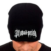 Image of ALL SHALL PERISH - BLACK BEANIE