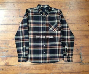 Image of Black Scale Holiday Collection - Heckler Button Up Shirt