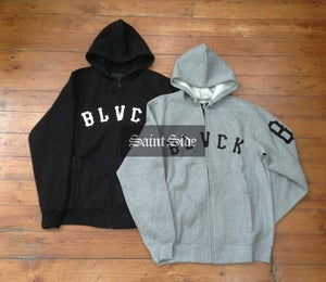 Image of Black Scale Holiday Collection - Grand Slam Zip Up Hood