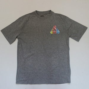 Image of Palace Tri Logo Tee - Marl Grey