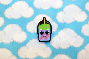 "Image of 1.5"" slushie pin"