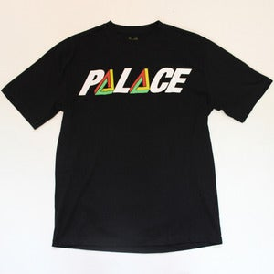 Image of Palace Large Logo Tee - Black