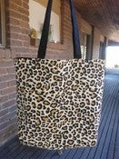 Image of Leopard print tote! Ready to ship! 