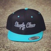 Image of Black / Teal Snapback