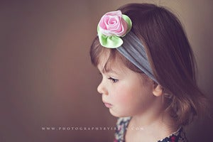 Image of RTS - Petite Rose Headband