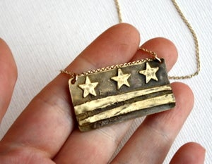 Image of DC Flag Necklace