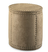 Image of Lee Drum Ottoman