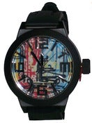 "Image of ""Subway Art"" Streetwear Watch W/ Silicone Band"