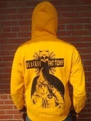 Image of Black Amerikkka Tour 2011: Klansman Hoodie (Yellow / Black)