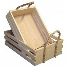 Image of Natural Large Crate