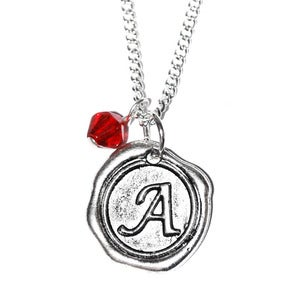Image of Wax Seal Charm Necklace