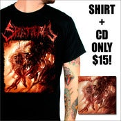 Image of SPLATTERED - CD + SHIRT DEAL