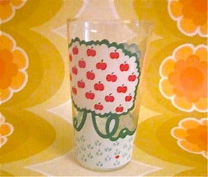 Image of Vintage Apple Tree Glass
